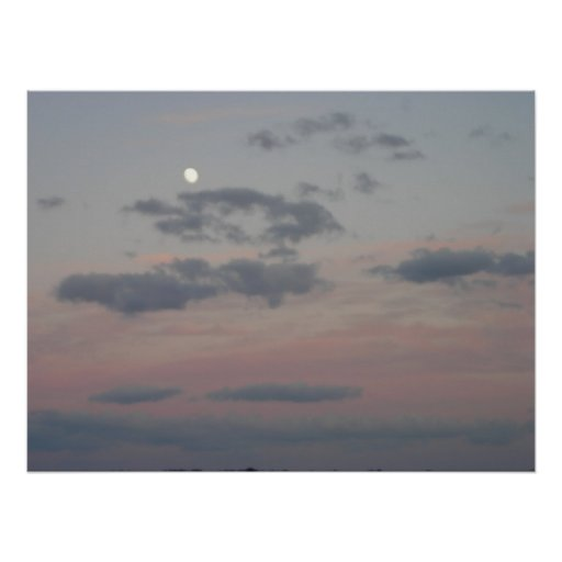 Salida de la luna póster
