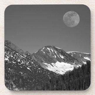 Salida de la luna, Sierra-Nevada, punto Vista del Posavasos