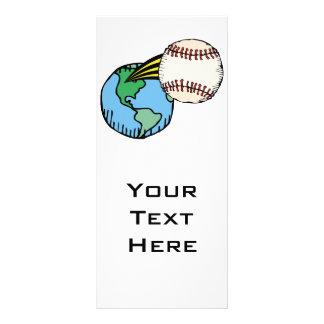 salida del béisbol de este mundo tarjeta publicitaria personalizada