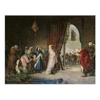 Salida del Boabdil, at the Alhambra Postcard