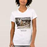 Salida del pueblo en invierno de Courbet Gustavo Camisetas
