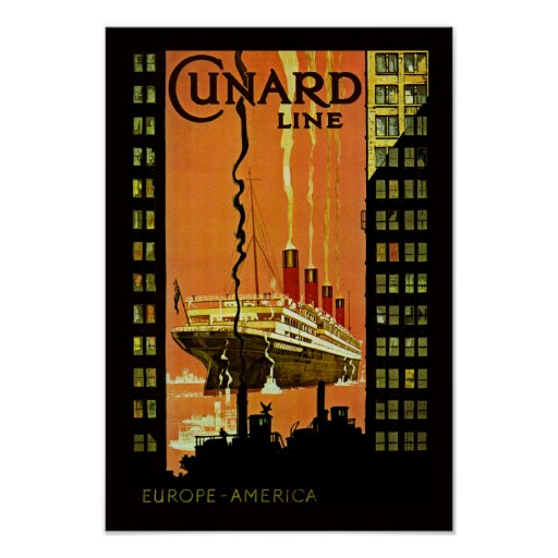 Salida del revestimiento marino póster
