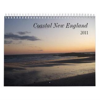 salida del sol 005, Nueva Inglaterra costera, 2011 Calendario