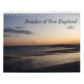 salida del sol 005, Nueva Inglaterra costera, 2011 Calendarios