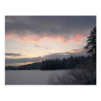 Salida del sol 2 del invierno postal