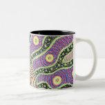 salida del sol aborigen taza de café