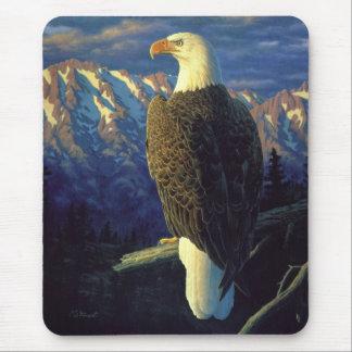 Salida del sol americana de la montaña de Eagle Alfombrilla De Raton