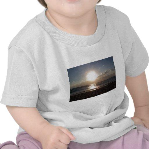 Salida del sol camisetas