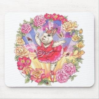 Salida del sol color de rosa Mousepad