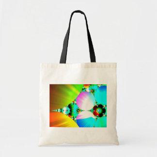 Salida del sol cristalina - arco iris abstracto