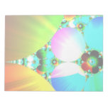 Salida del sol cristalina - arco iris abstracto de blocs de notas