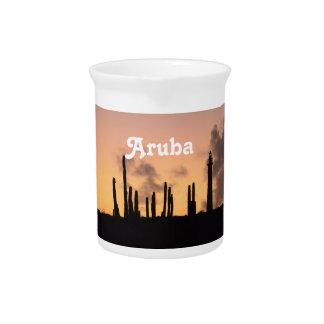 Salida del sol de Aruba Jarras