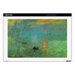 Salida del sol de Claude Monet Skins Para 43,2cm Portátiles