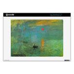 Salida del sol de Claude Monet Acer Chromebook Skins