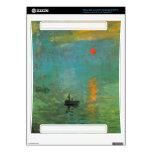 Salida del sol de Claude Monet Consola Xbox 360 Skin