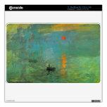 Salida del sol de Claude Monet 27,9cm MacBook Air Calcomanía