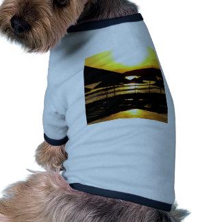 Salida del sol de Grecia Camisetas De Perrito