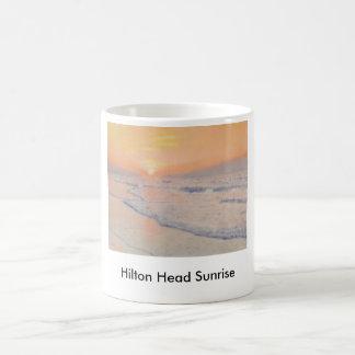 Salida del sol de Hilton Head Taza
