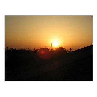 salida del sol de Houston Tarjetas Postales