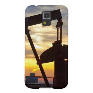Salida del sol de Jack de la bomba del pozo de Funda Para Galaxy S5