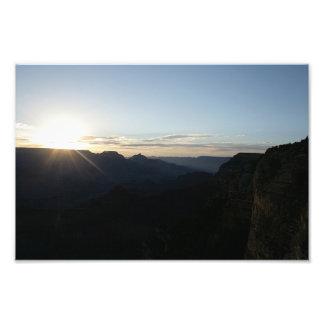 Salida del sol de julio en el Gran Cañón Fotografías
