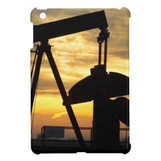 Salida del sol de la bomba de aceite