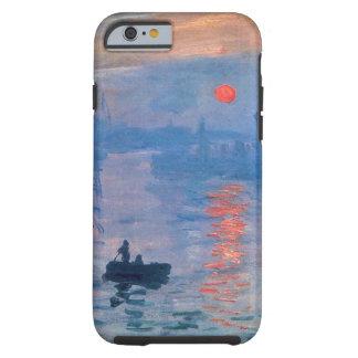 Salida del sol de la impresión funda resistente iPhone 6