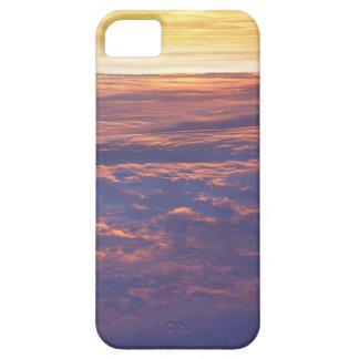 Salida del sol de la mucha altitud iPhone 5 carcasas