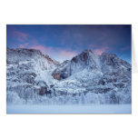 Salida del sol de las cataratas de Yosemite Tarjeta De Felicitación