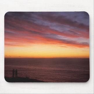 Salida del sol de observación de la isla de Monheg Tapete De Raton
