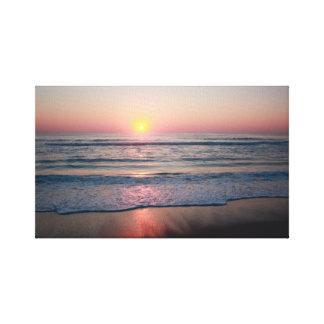 Salida del sol de Outer Banks Impresion En Lona