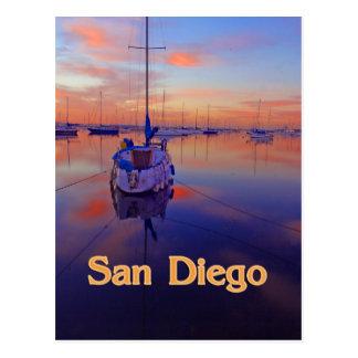 Salida del sol de San Diego Postales