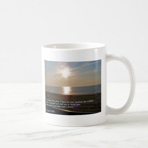 Salida del sol del 29:11 de Jeremiah Tazas De Café