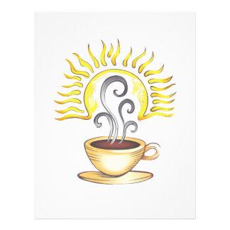 SALIDA DEL SOL DEL CAFÉ MEMBRETE
