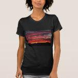 salida del sol del desierto camiseta