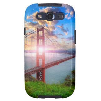 Salida del sol del Golden Gate