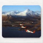 Salida del sol del guardacostas en el Kodiak, AK Alfombrillas De Ratones