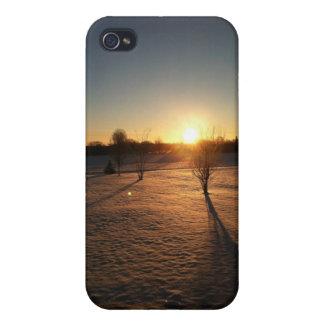 salida del sol del invierno iPhone 4 cobertura