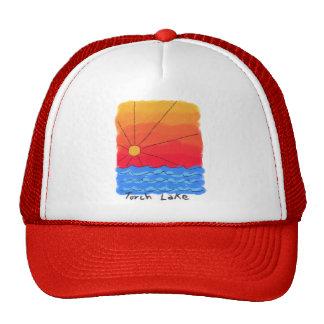 Salida del sol del lago torch gorra