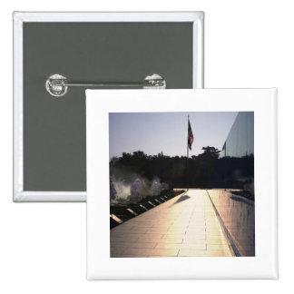 Salida del sol del monumento de Guerra de Corea Pin