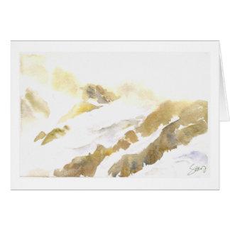 Salida del sol del Mt. Shuksan Tarjeta De Felicitación