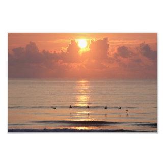 Salida del sol del océano - Daytona Beach, FL Cojinete