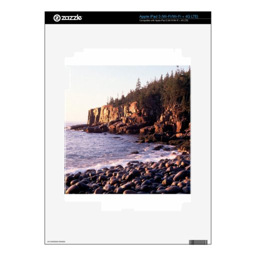 Salida del sol del parque en Otteracadia Maine iPad 3 Pegatina Skin