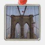 Salida del sol del puente de Brooklyn NYC el Adorno De Reyes