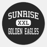 Salida del sol - Eagles de oro - continuación - Av Pegatinas