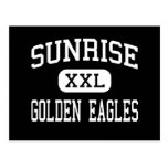 Salida del sol - Eagles de oro - continuación - Av Tarjeta Postal