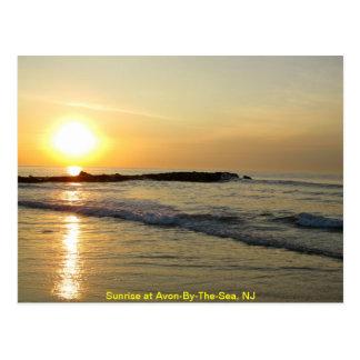 Salida del sol en el Atlántico Postales