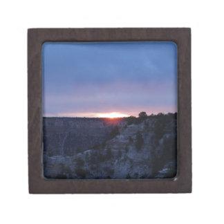 Salida del sol en el Gran Cañón Cajas De Joyas De Calidad