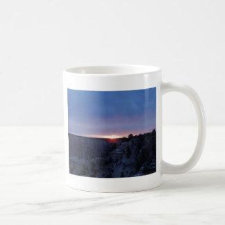 Salida del sol en el Gran Cañón Taza