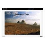 Salida del sol en el llano de Giza Portátil Skin